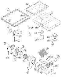 Jenn air grill parts diagram lovely amana amana refrigerator parts