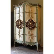 armoire furniture antique. Antique Venetian Painted Armoire Furniture R