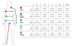 Size Chart Mens Clothing Guide Suit Measurements Men