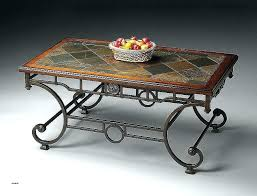 stone topped coffee tables round slate top coffee table slate inlay top end table new coffee