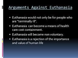 euthanasia essay anti euthanasia essay