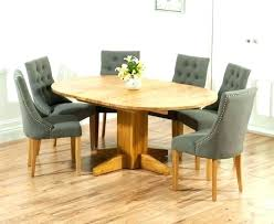 round kitchen table for 6 solid oak round dining table 6 chairs round dining tables for