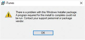 what is windows installer fix there is a problem with this windows installer package