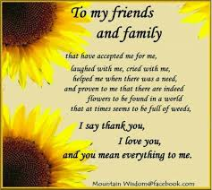 Thankful For Family Quotes Awesome Thankful Quotes For Friends And Family