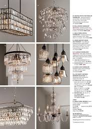 a b a adeline crystal rectangular chandelier faceted crystals on an iron frame with