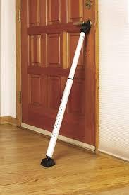 Simple Door Security Floor Bar Mace Brace Big Jammer Home On Design Ideas