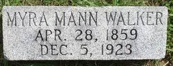 Myra E. Mann Walker (1859-1923) - Find A Grave Memorial