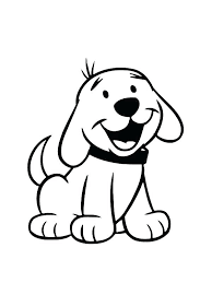 Coloring Pages For Kids Dogs Husky Dog Coloring Pages Printable Dog