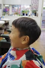 髪型夏に向けて刈り上げキッズカットメンズカットメンズヘア
