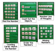 Counting Pocket Chart Activities