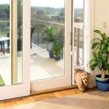how much does it cost to install a doggie door good in glass pet door freedom