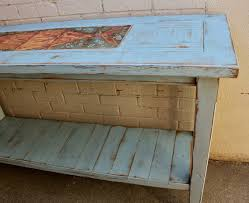 handmade wood furniture table shabby beach cottage chic wooden reclaimed beachy furniture