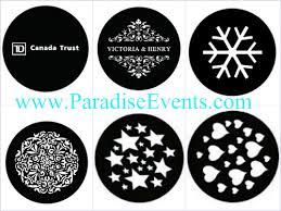 Wedding Gobo  Shaadi The Event  Pinterest  Wedding Monograms Gobo Projector Rental Vancouver