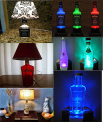 how to make liquor bottle lamps photo 6