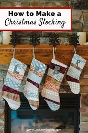 Handmade Christmas Stockings How To Make Patchwork Christmas Stockings Diy Christmas Craft Decor
