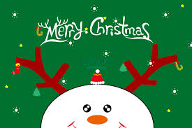 Christmas Card Wallpaper Illustration Image_picture Free Download