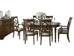 awesome round table set legacy classic dining set round dining table four side chair two arm