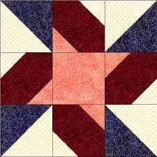 50 States- Indiana Free Star Quilt Block Pattern & indiana.jpg Adamdwight.com