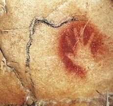hand print chauvet cave
