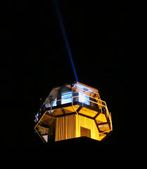 prison watch tower search light