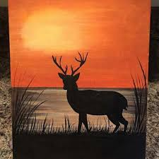 Easy paintings on canvas Painting Ideas 1024x1024 Deer Painting On Canvas Inspirational 40 Easy Paintings Of Animals Easy Animals Painting Canvas Painting Valley Easy Animals Painting Canvas At Paintingvalleycom Explore