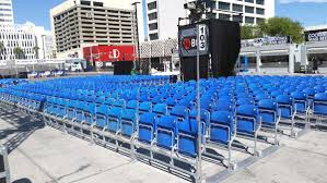 Downtown Las Vegas Event Center Boxing Seating Solutions