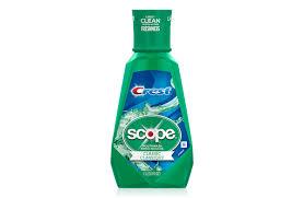 Scope Classic Mouthwash Crest