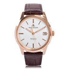 mens classic watches the watch gallery® jaeger lecoultre geophysic date rose gold automatic silver dial mens watch q8012520