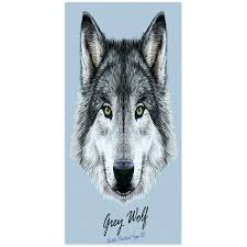 funny beach towels. Wolf Bath Towels Modern Design Polyester Beach Towel Cool Funny Set E