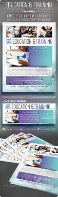 Training Flyer Templates Free Education Training Free Flyer Psd Template