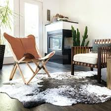 5x6 rug faux cowhide grey charcoal brown area rug 5ft x 6ft area rugs