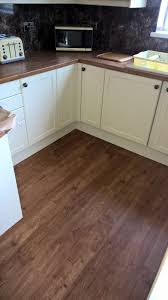 Kitchen And Living Room Flooring Polyflor Camaro Lvt Vinyl Tiles Wood Plank Design Flooring Fitted
