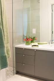 gorgeous contemporary bath cabinets gray modern bathroom vanity with white quartz countertop