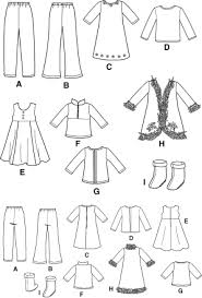 Free Printable American Girl Doll Clothes Patterns Unique Free Printable 48 Inch Doll Clothes Patterns Simplicity 48
