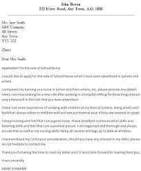 Graduate Program Cover Letter Nursing Application Cover Letter Nurse Sample Cover Letter Sample