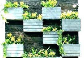 outdoor wall planters planter living ideas indoor ceramic uk