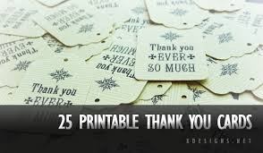 printable thank you card template 25 beautiful printable thank you card templates xdesigns