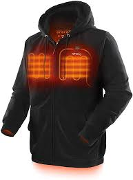 Ororo Heated Hoodie With Battery Pack Unisex