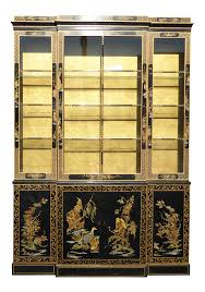 Hutch Display Cabinet Vintage Used Los Angeles China And Display Cabinets