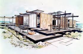Creativity Architectural Drawings Of Modern Houses Pacific Standard Ime Throughout Decor