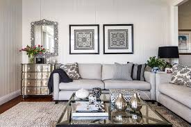 light gray sofas transitional
