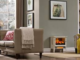 duraflame cream 3d infragen electric fireplace stove with remote control dfi 5018 04