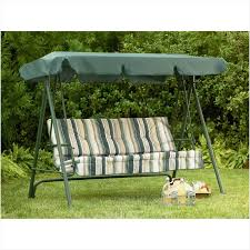 patio swing covers replacements the best option sears garden oasis 3 person swing replacement canopy