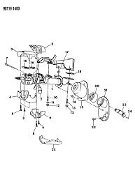 1990 chrysler lebaron sedan column steering upper and lower with tilt diagram 000005g0
