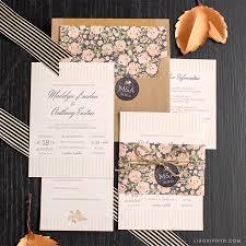 Vintage Wedding Invitation Vintage Wedding Invitation Suite Lia Griffith