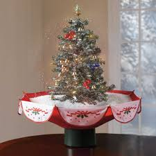 Decorating Ideas For Tabletop Christmas Trees