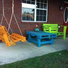 Recycled Wooden Pallets Furniture For Patio Decor  Recycled ThingsPallet Furniture For Outdoors