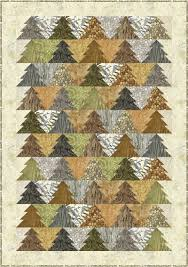 Tree Quilt Patterns Adorable Woodland Trees Quilt Pattern PC48 Advanced Beginner Queen