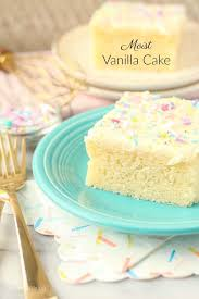 Moist Vanilla Cake Recipe Beyond Frosting
