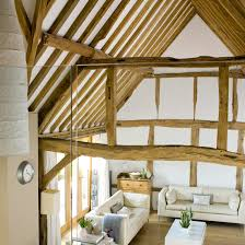 Light and airy barn conversion